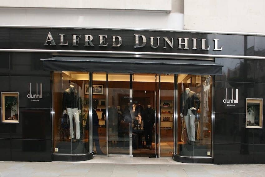 Quintessentially British - Alfred Dunhill