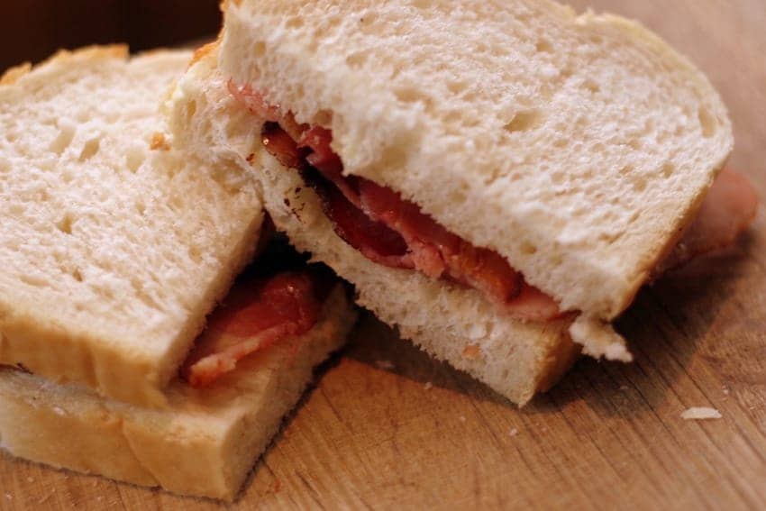 Find British - Bacon Butty