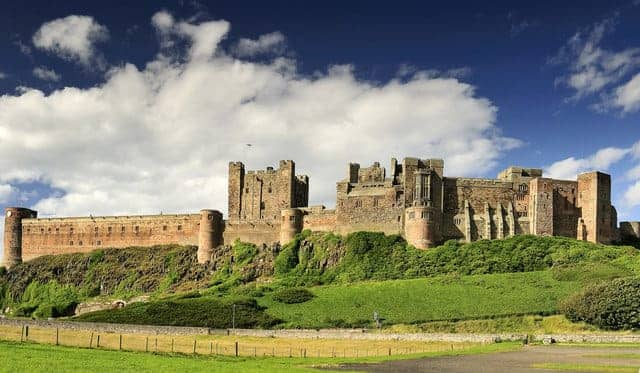Find British - Bamburgh Castle