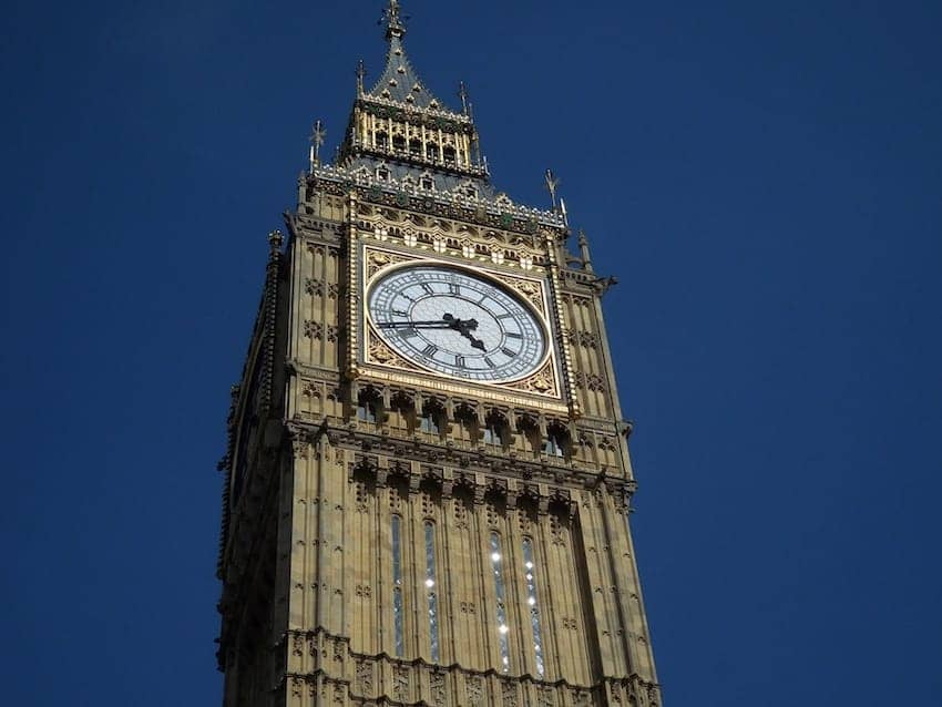 Find British - Big Ben