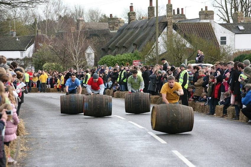 Find British - Boxing Day Barrel Race