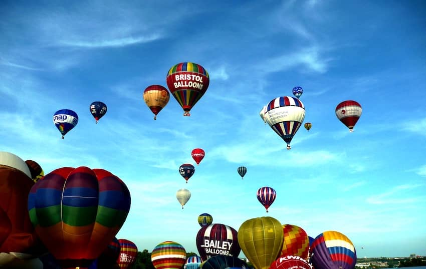 Find British - Bristol Balloon Fiesta