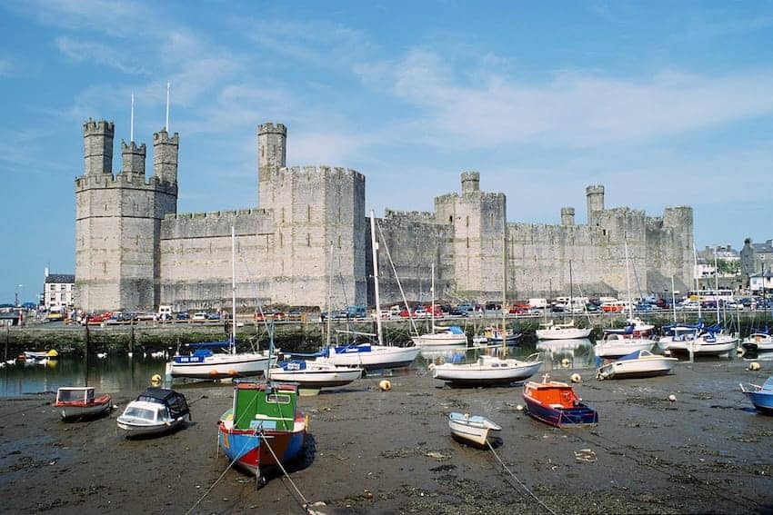 Find British - Caernarfon Castle