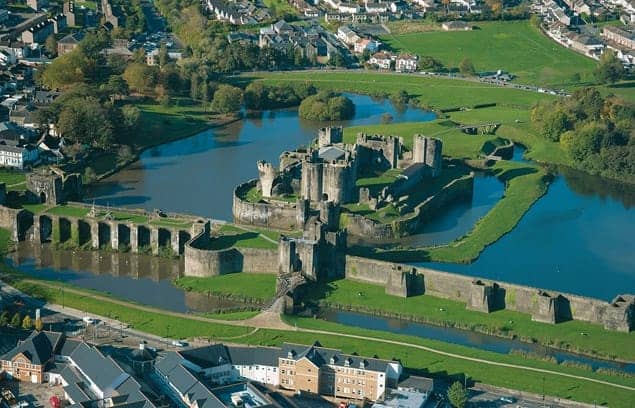 Find British - Caerphilly Castle