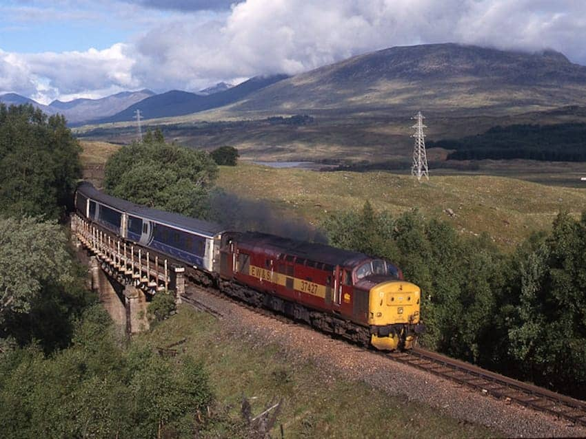 Find British - Caledonian Sleeper Train