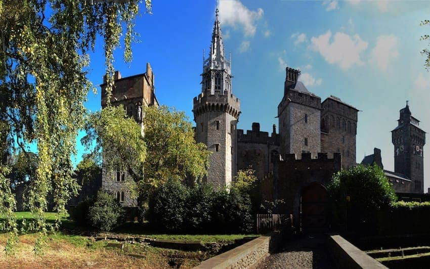 Find British - Cardiff Castle