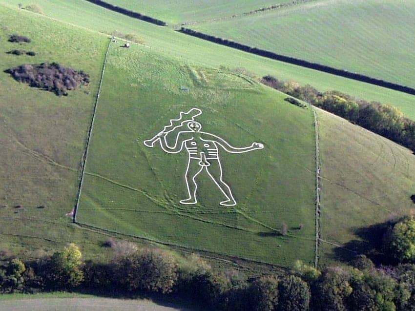 Find British - Cerne Abbas Giant