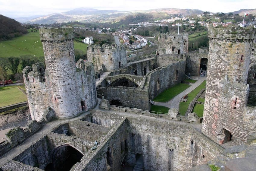 Find British - Conwy Castle