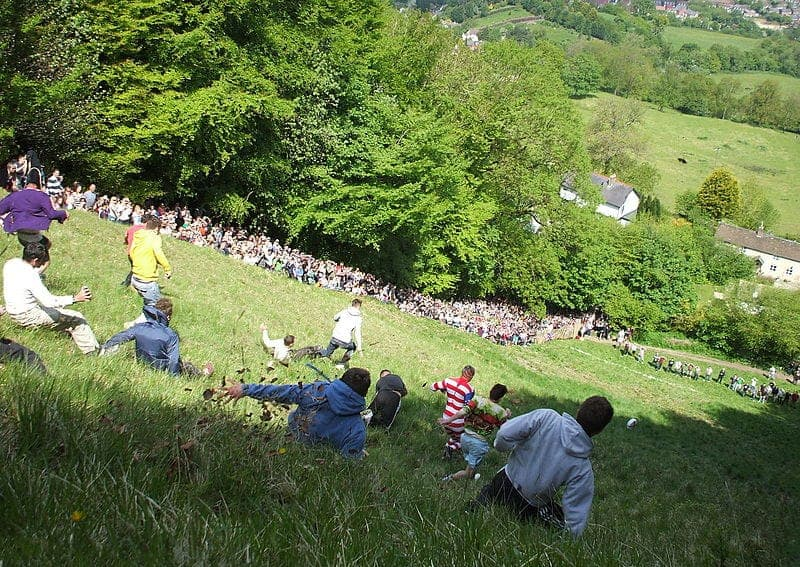 Find British - Cooper's Hill Cheese Rolling
