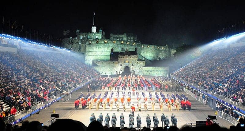 Find British - Edinburgh Tattoo