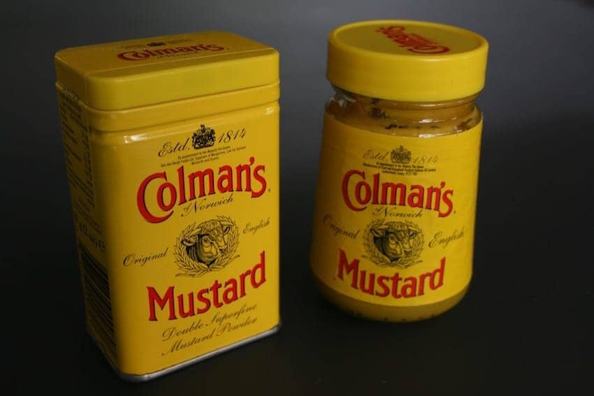 Find British - English Mustard