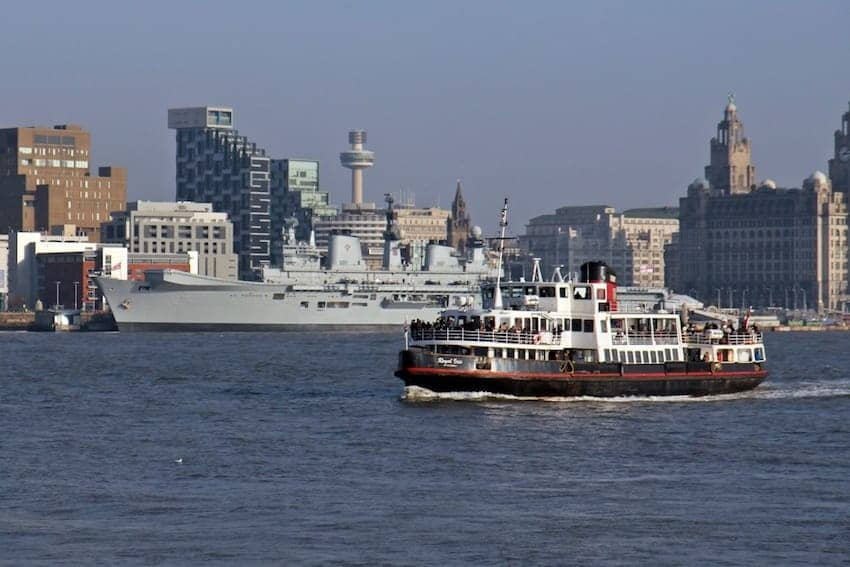 Find British - Ferry Across The Mersey