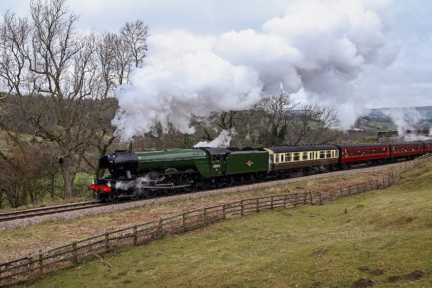 Find British - The Flying Scotsman