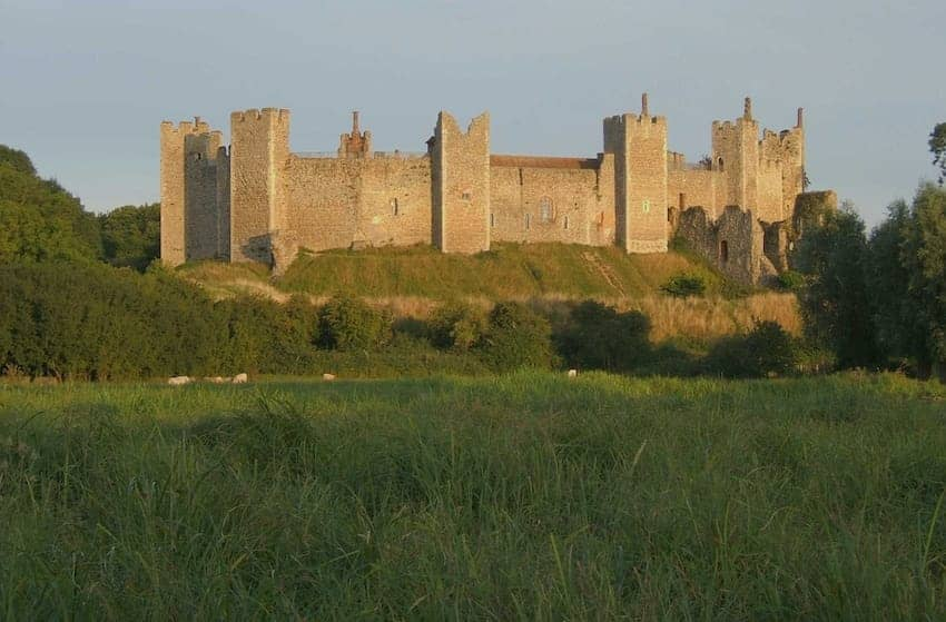 Find British - Framlingham Castle