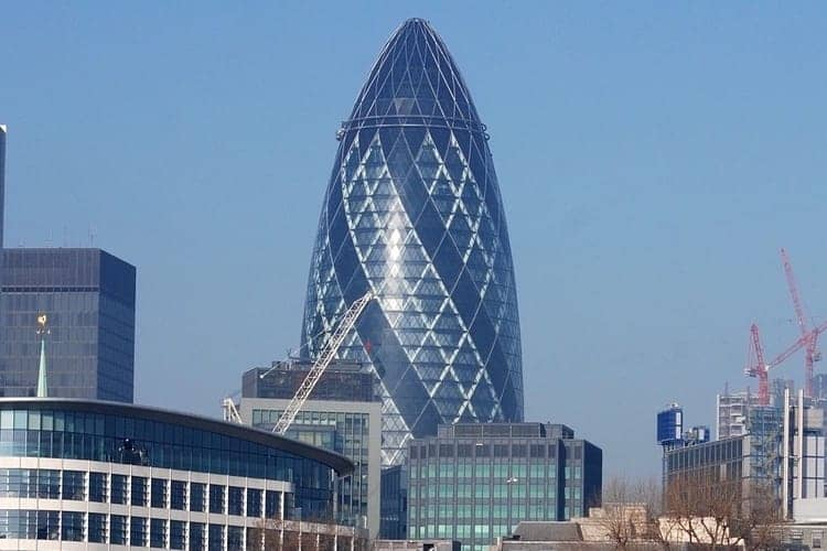 30 St Mary Axe - The Gherkin