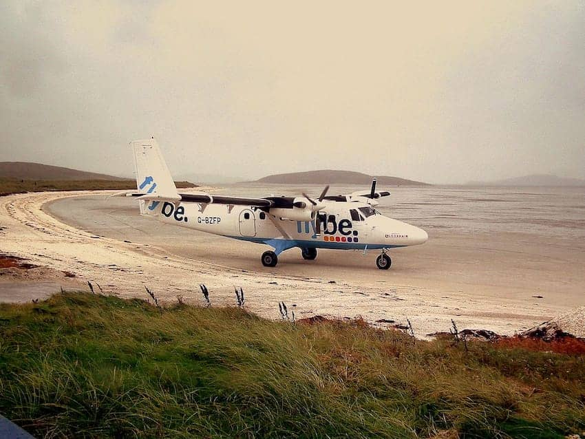 Find British - Glasgow To Barra By Air