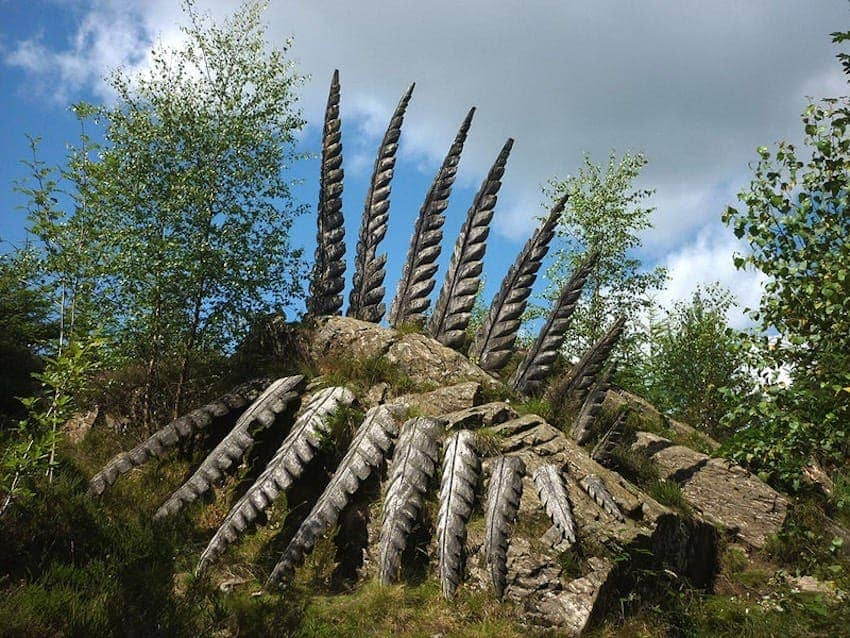 Find British - Grizedale Forest Sculpture