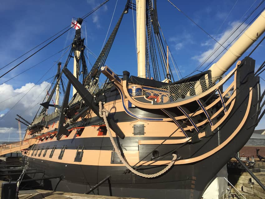 Quintessentially British - HMS Victory