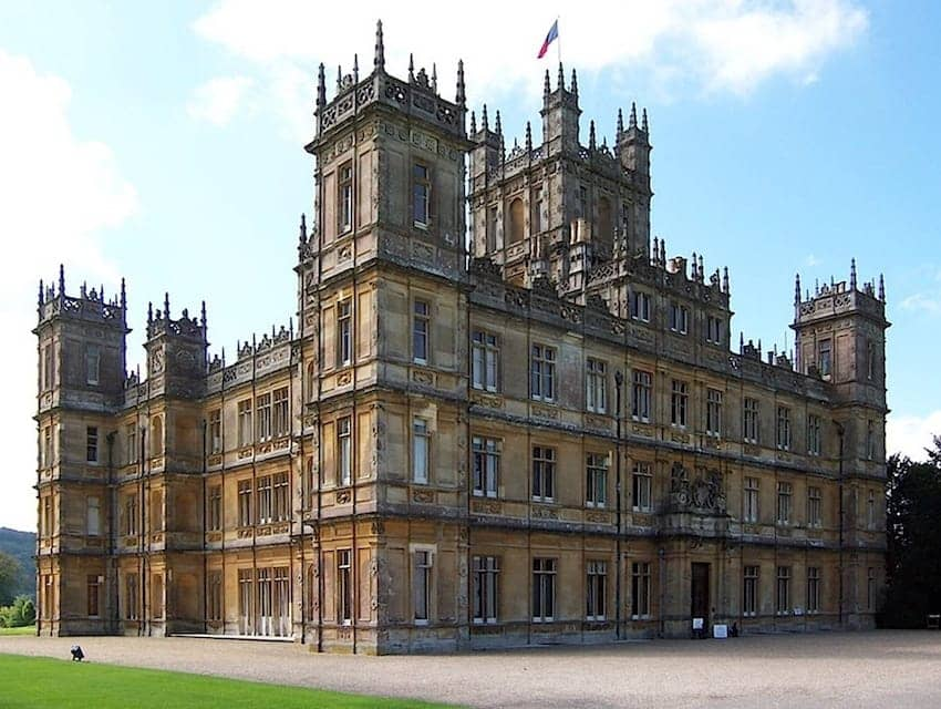 Find British - Highclere Castle