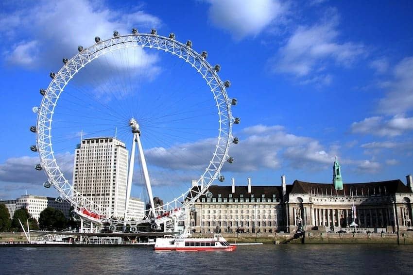 Find British - The London Eye