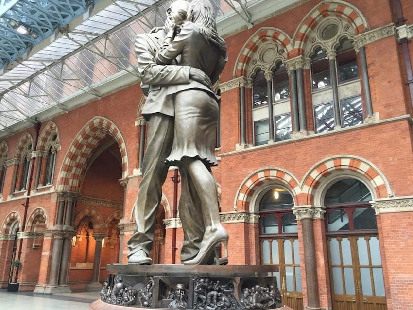 The Meeting Place - St Pancras Station