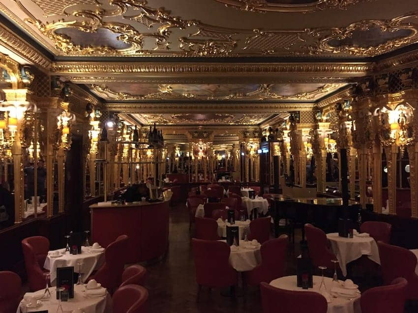 Oscar Wilde Bar at the Cafe Royal