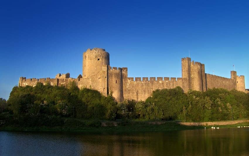 Find British - Pembroke Castle