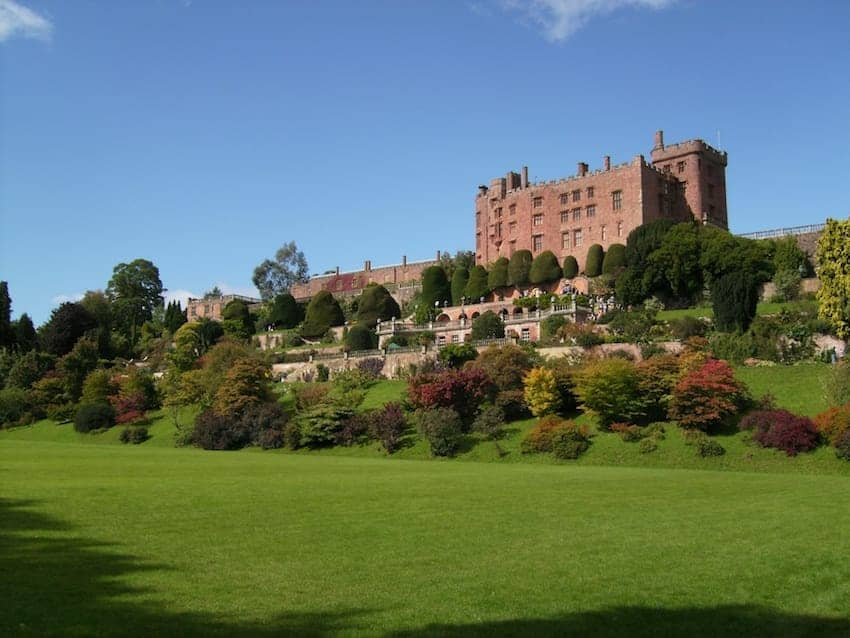 Find British - Powis Castle