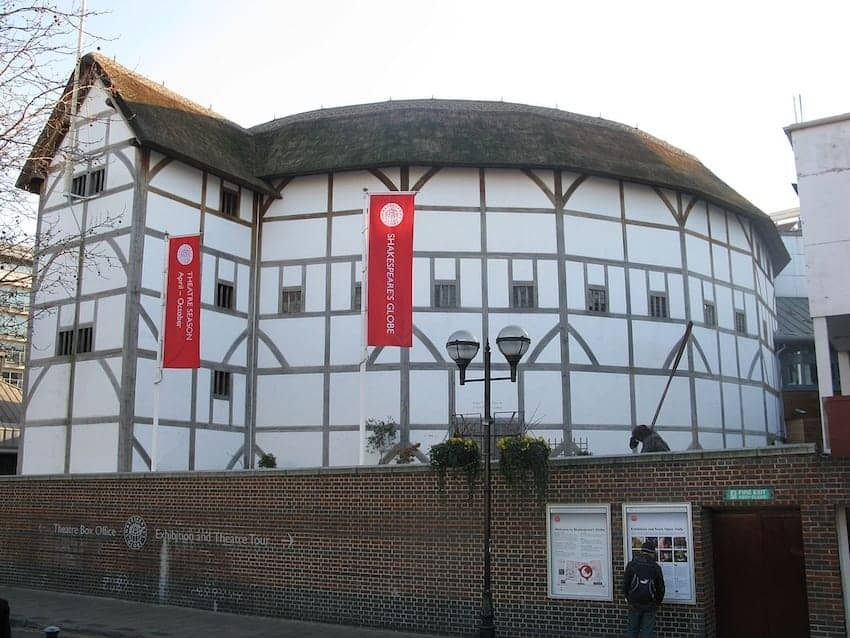 Find British - Shakespeare's Globe