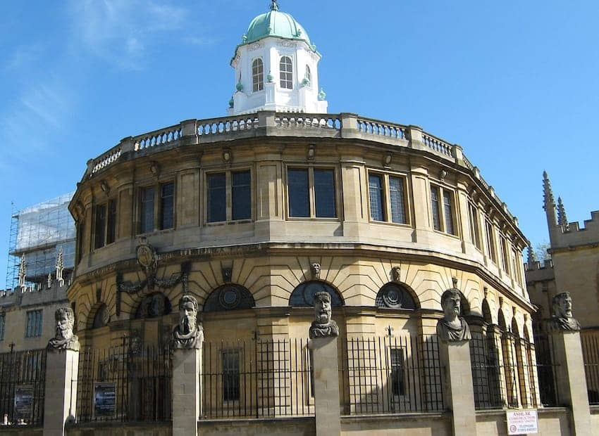 Find British - Sheldonian Theatre