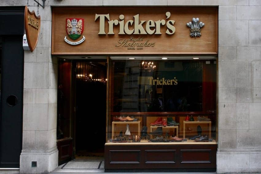 Find British - Tricker's