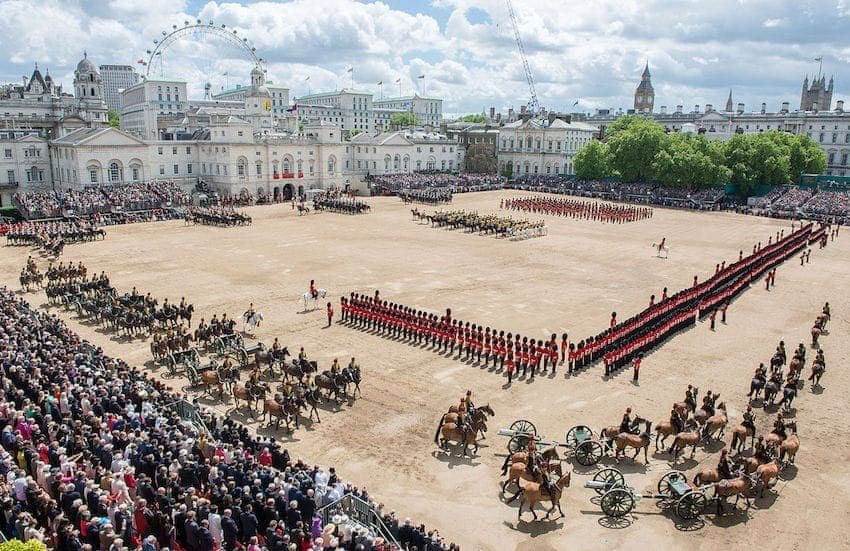 Quintessentially British - Trooping The Colour