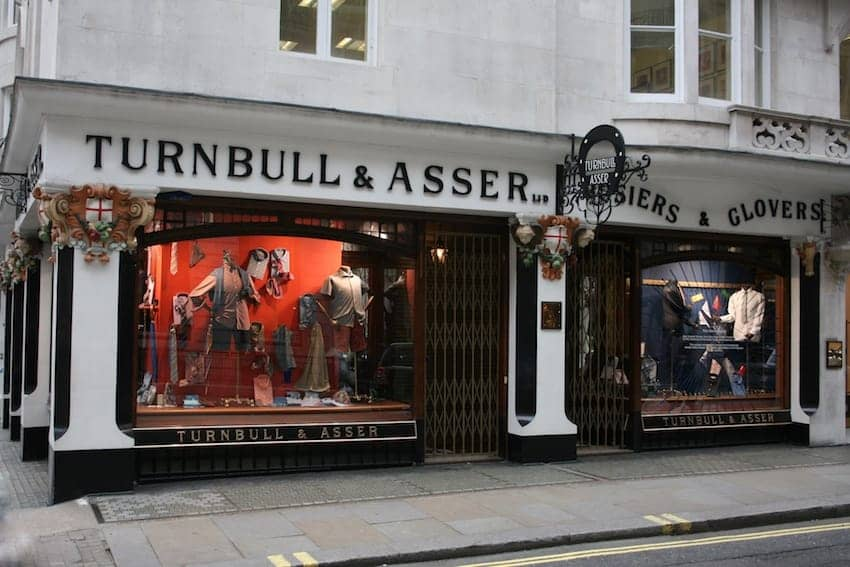Find British - Turnbull & Asser