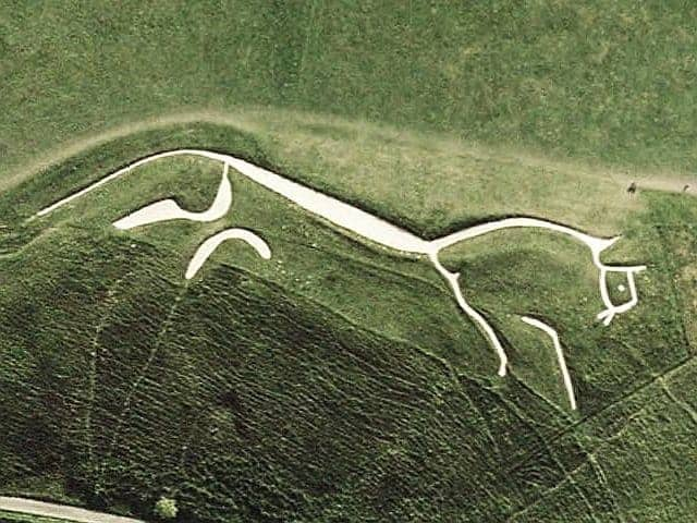 Find British - Uffington White Horse