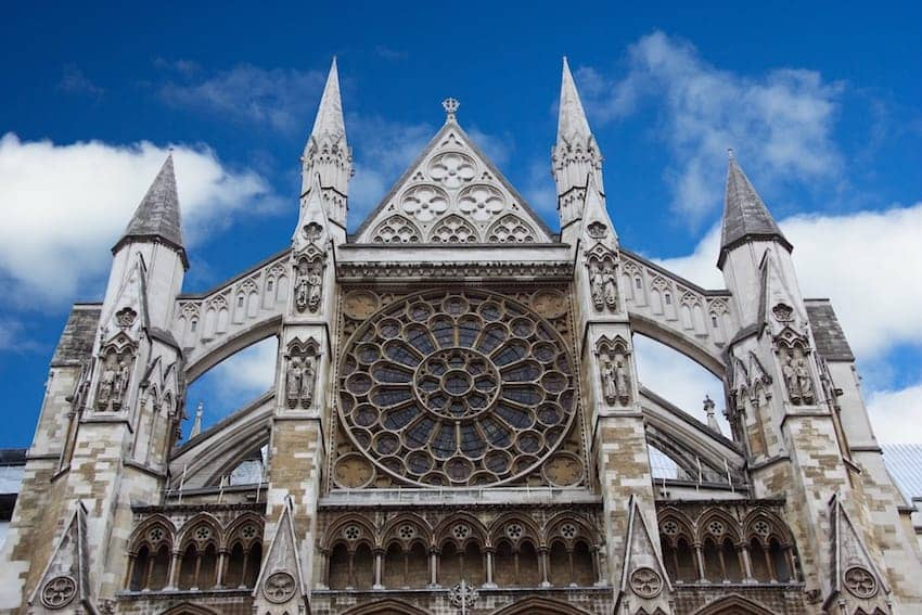 Find British - Westminster Abbey